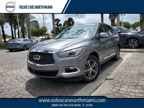 2018 Infiniti QX60 for sale at Volvo Cars North Miami in Miami FL