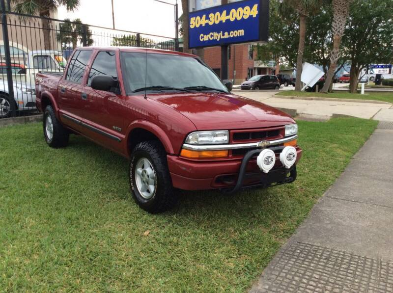 2003 Chevrolet S-10 for sale at Car City Autoplex in Metairie LA