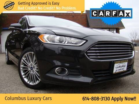 2015 Ford Fusion for sale at Columbus Luxury Cars in Columbus OH