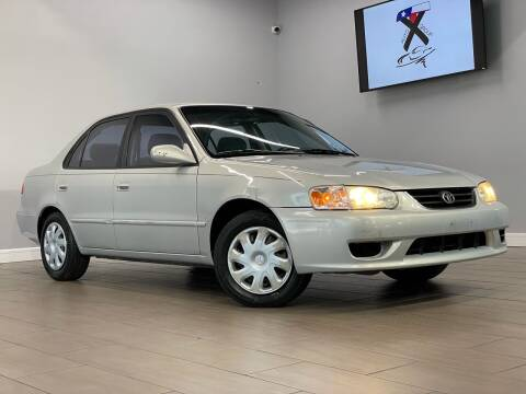 2002 Toyota Corolla for sale at TX Auto Group in Houston TX