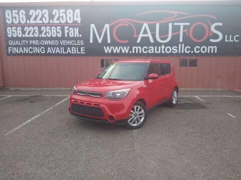 2018 Kia Soul for sale at MC Autos LLC in Pharr TX