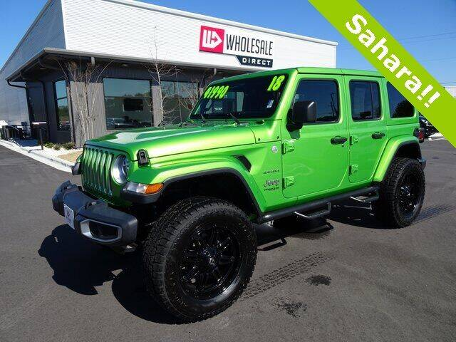 2018 Jeep Wrangler Unlimited for sale at Wholesale Direct in Wilmington NC