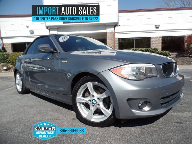 2012 BMW 1 Series for sale at IMPORT AUTO SALES in Knoxville TN