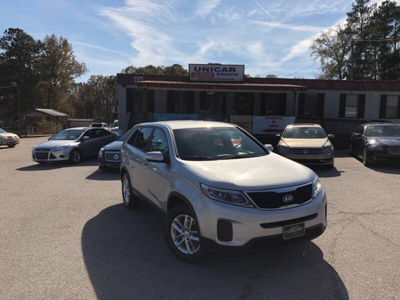 2015 Kia Sorento for sale at Unicar Enterprise in Lexington SC