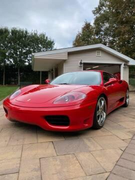 2000 Ferrari 360 Modena for sale at Long Island Exotics in Holbrook NY