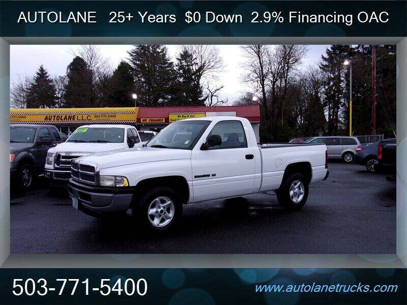 2001 Dodge Ram Pickup 1500 for sale at Auto Lane in Portland OR