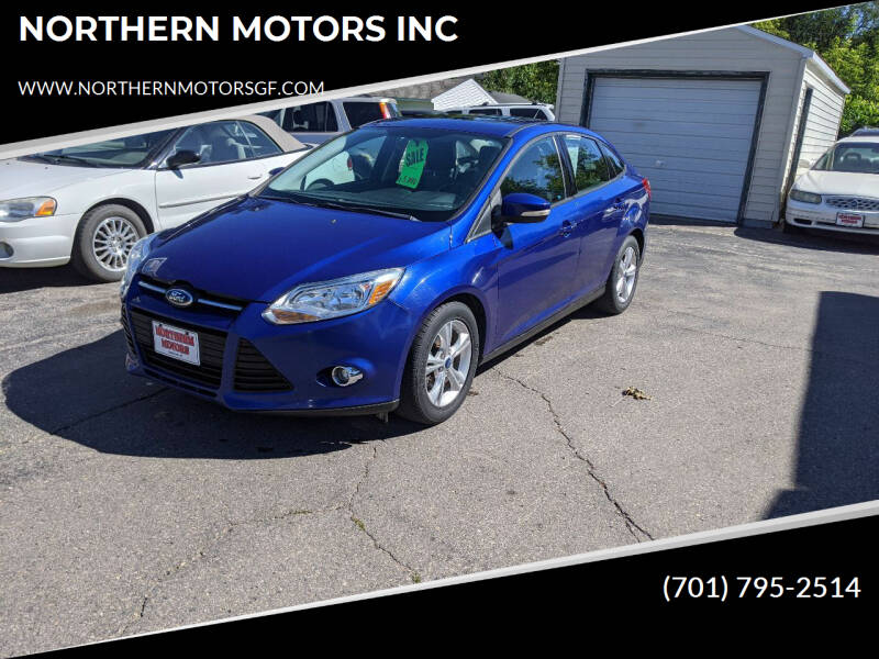 2012 Ford Focus for sale at NORTHERN MOTORS INC in Grand Forks ND