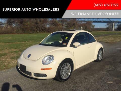 2007 Volkswagen New Beetle for sale at Superior Auto Wholesalers in Burlington City NJ