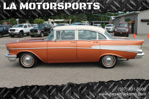 1957 Chevrolet Bel Air for sale at LA MOTORSPORTS in Windom MN