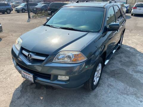 2006 Acura MDX for sale at 101 Auto Sales in Sacramento CA