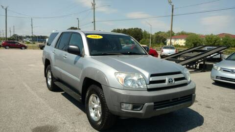 2003 Toyota 4Runner for sale at Kelly & Kelly Supermarket of Cars in Fayetteville NC