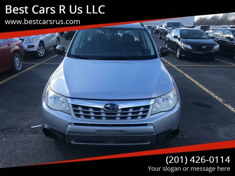 2012 Subaru Forester for sale at Best Cars R Us LLC in Irvington NJ