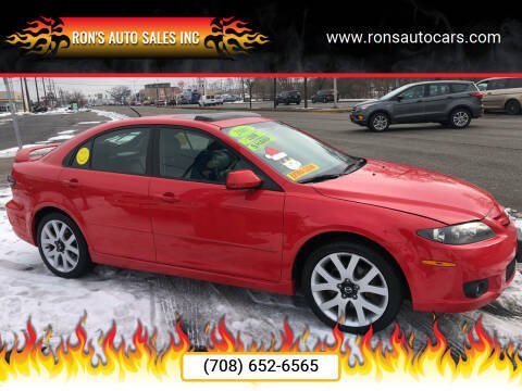 2007 Mazda MAZDA6 for sale at RON'S AUTO SALES INC in Cicero IL