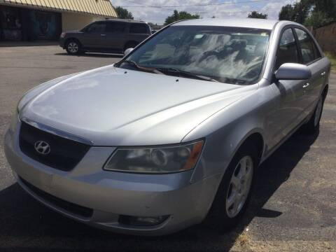 2006 Hyundai Sonata for sale at LOWEST PRICE AUTO SALES, LLC in Oklahoma City OK