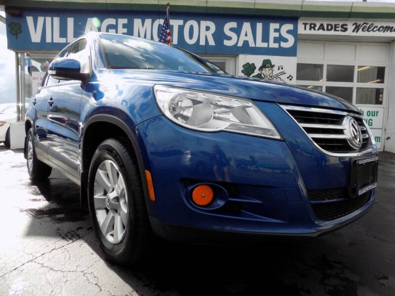 2009 Volkswagen Tiguan for sale at Village Motor Sales in Buffalo NY