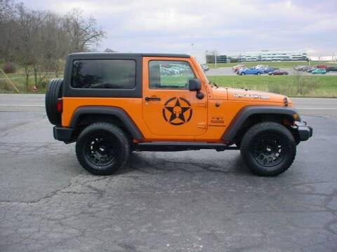 2012 Jeep Wrangler for sale at Westview Motors in Hillsboro OH