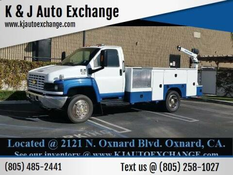 2003 Chevrolet C4500 for sale at K & J Auto Exchange in Santa Paula CA