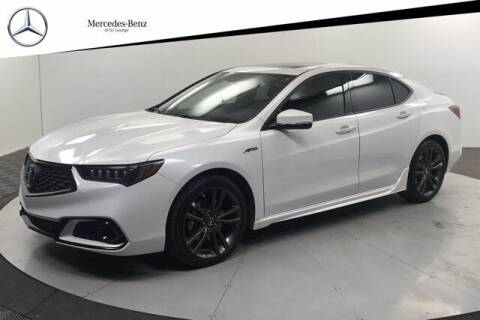2019 Acura TLX for sale at Stephen Wade Pre-Owned Supercenter in Saint George UT