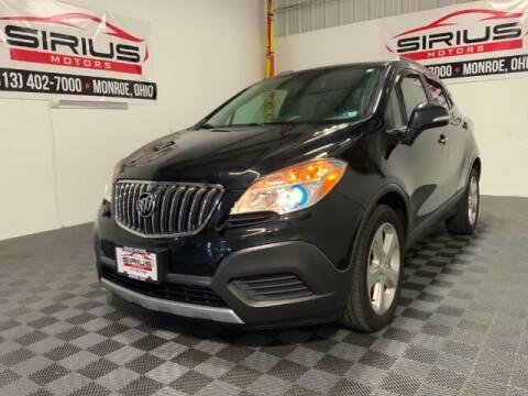 2016 Buick Encore for sale at SIRIUS MOTORS INC in Monroe OH