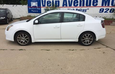 2007 Nissan Sentra for sale at Velp Avenue Motors LLC in Green Bay WI
