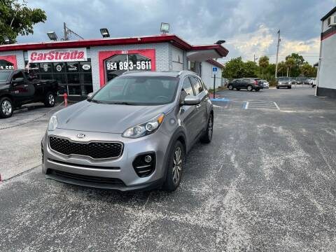 2017 Kia Sportage for sale at CARSTRADA in Hollywood FL