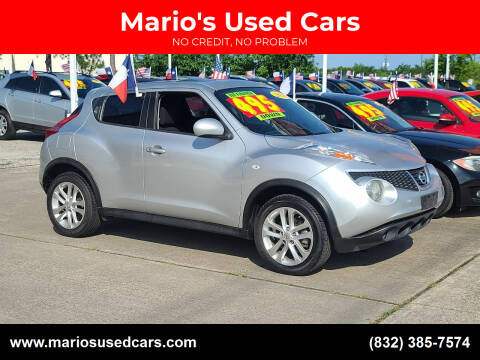 2014 Nissan JUKE for sale at Mario's Used Cars in Houston TX