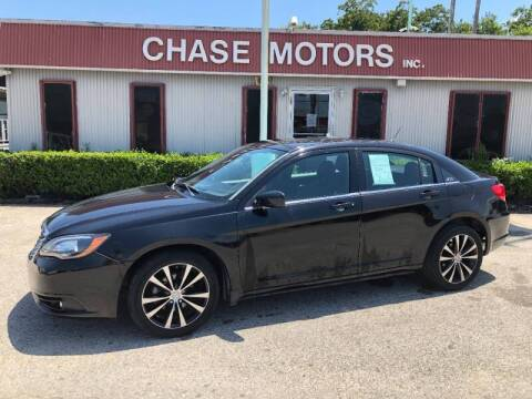 2013 Chrysler 200 for sale at Chase Motors Inc in Stafford TX