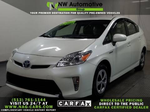 2012 Toyota Prius for sale at NW Automotive Group in Cincinnati OH