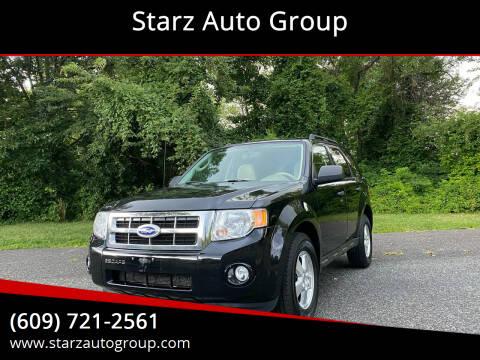 2012 Ford Escape for sale at Starz Auto Group in Delran NJ
