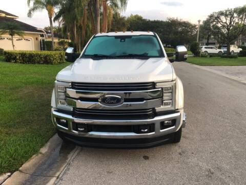 2017 Ford F-450 Super Duty for sale at AUTOSPORT in Wellington FL