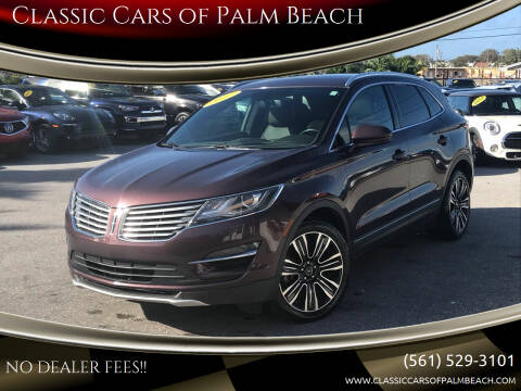 2017 Lincoln MKC for sale at Classic Cars of Palm Beach in Jupiter FL