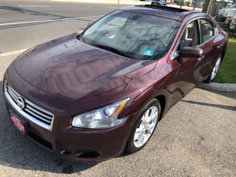 2014 Nissan Maxima for sale at STATE AUTO SALES in Lodi NJ