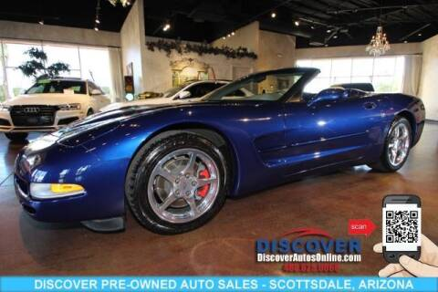 2004 Chevrolet Corvette for sale at Discover Pre-Owned Auto Sales in Scottsdale AZ