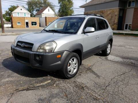 2008 Hyundai Tucson for sale at USA AUTO WHOLESALE LLC in Cleveland OH