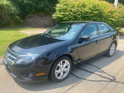 2012 Ford Fusion for sale at Padula Auto Sales in Braintree MA
