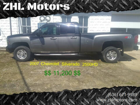 2007 Chevrolet Silverado 2500HD for sale at ZHL Motors in House Springs MO