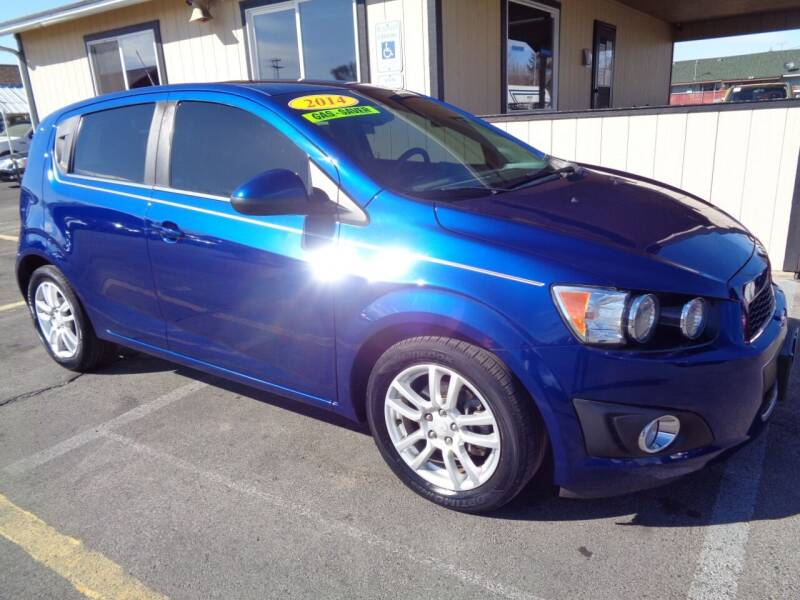 2014 Chevrolet Sonic for sale at BBL Auto Sales in Yakima WA