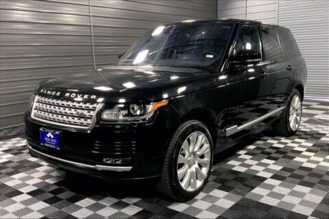 2016 Land Rover Range Rover for sale at TRUST AUTO in Sykesville MD