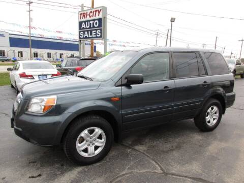 2006 Honda Pilot for sale at TRI CITY AUTO SALES LLC in Menasha WI