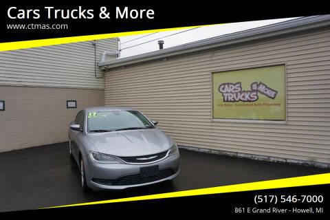 2017 Chrysler 200 for sale at Cars Trucks & More in Howell MI