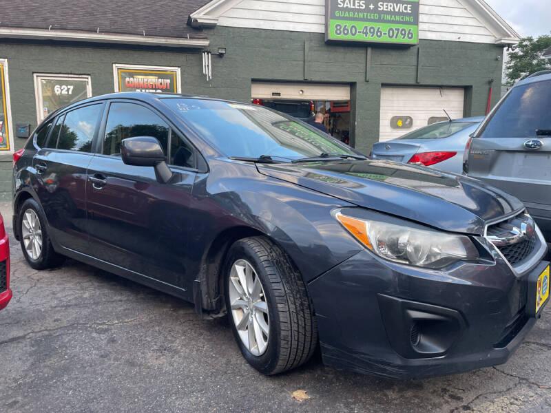 2013 Subaru Impreza for sale at Connecticut Auto Wholesalers in Torrington CT