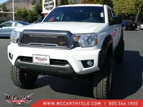 2015 Toyota Tacoma for sale at McCarthy Wholesale in San Luis Obispo CA