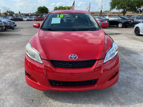 2010 Toyota Matrix for sale at SOUTHWAY MOTORS in Houston TX