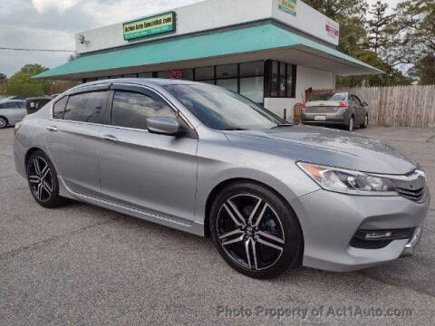 2016 Honda Accord for sale at Action Auto Specialist in Norfolk VA