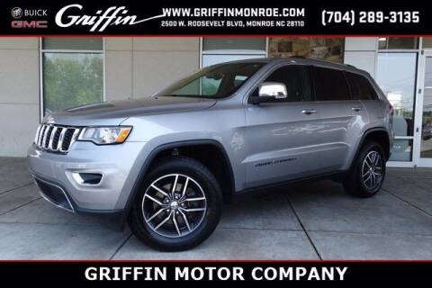2018 Jeep Grand Cherokee for sale at Griffin Buick GMC in Monroe NC