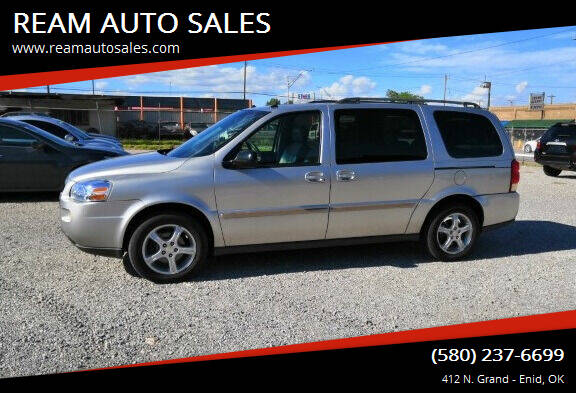 2005 Chevrolet Uplander for sale at REAM AUTO SALES in Enid OK