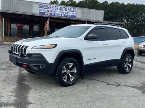 2014 Jeep Cherokee for sale at Greenbrier Auto Sales in Greenbrier AR