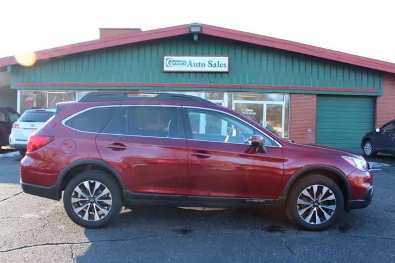 2015 Subaru Outback for sale at Gentry Auto Sales in Portage MI
