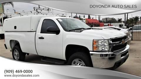 2013 Chevrolet Silverado 2500HD for sale at DOYONDA AUTO SALES in Pomona CA