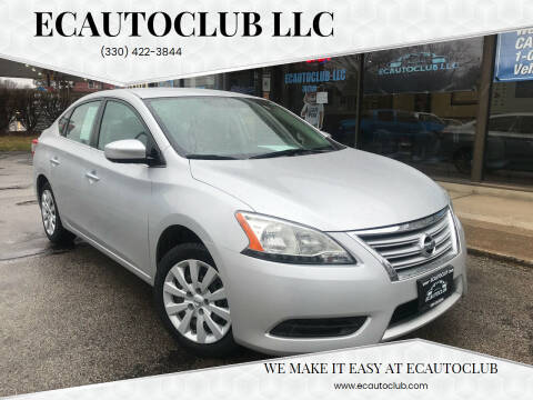 2015 Nissan Sentra for sale at ECAUTOCLUB LLC in Kent OH